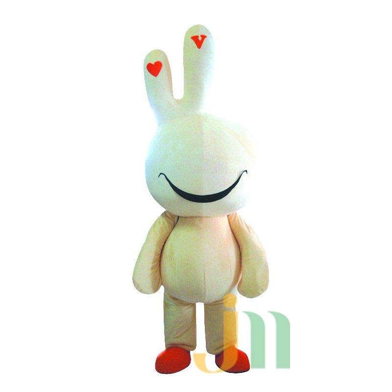 Qmi Cartoon Rabbit Walking Doll Clothing Doll Cartoon Rabbit Hedging Dawei Mascot Costume