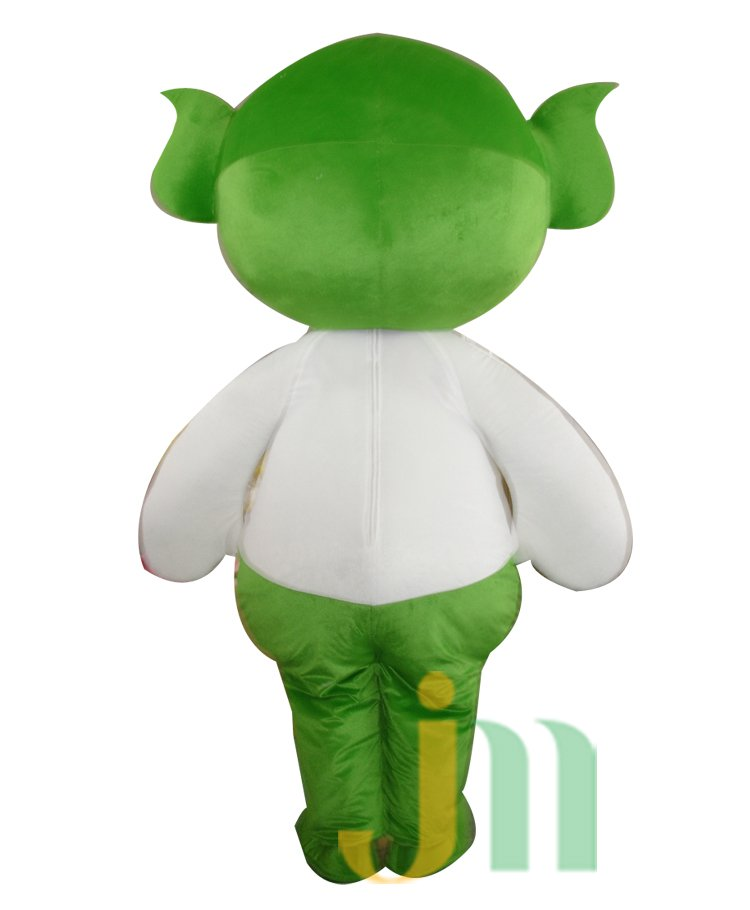 Small Green Leaves Doll Cartoon Clothing Cartoon Walking Doll Hedging Empoasca Mascot Costume