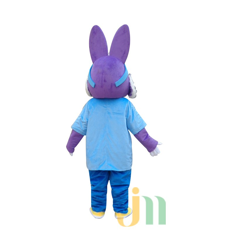 Cartoon Doll Cartoon Rabbit Ski Clothing Walking Doll Hedging Ski Rabbit Mascot Costume
