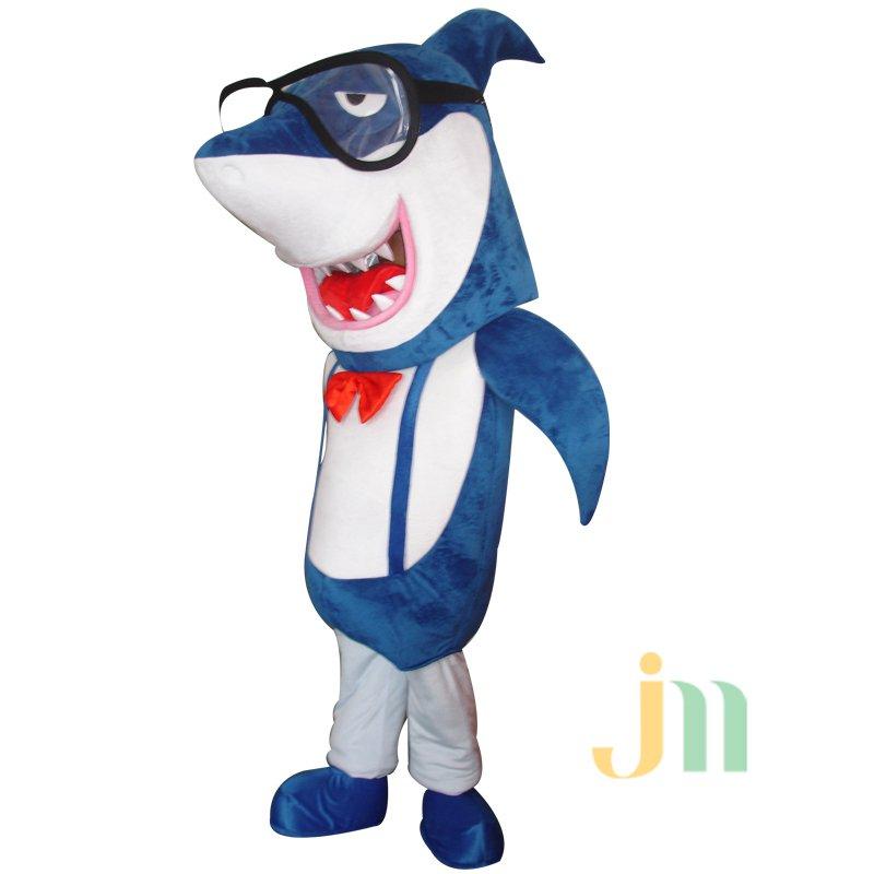 Cartoon Doll Cartoon Shark Shark Shark Shark Jacket Walking Doll Clothing Doll Mascot Costume