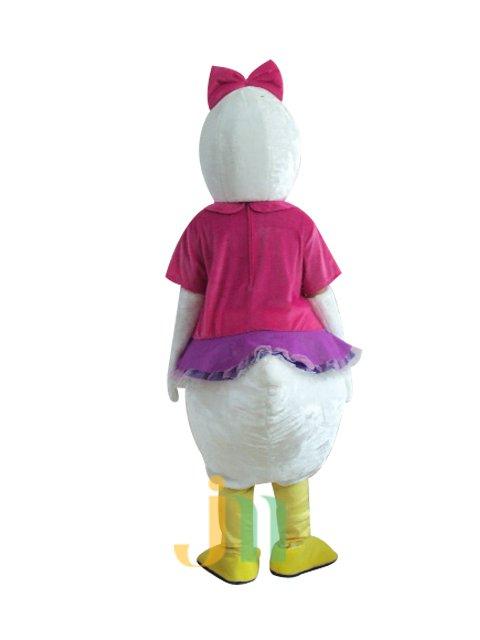 Cartoon Purple Tang Woman Even Walking Doll Cartoon Clothing Female Ferrule Purple Tang Mascot Costume