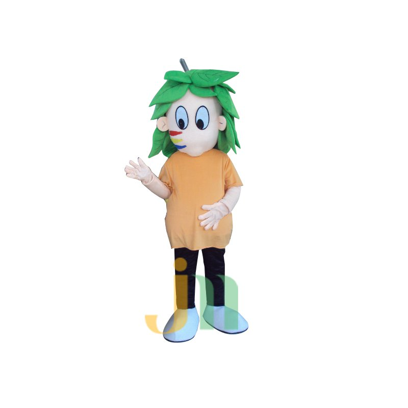 Cartoon Tree Green People Walking Doll Doll Cartoon Clothing Sets Head Tree Green Man Mascot Costume