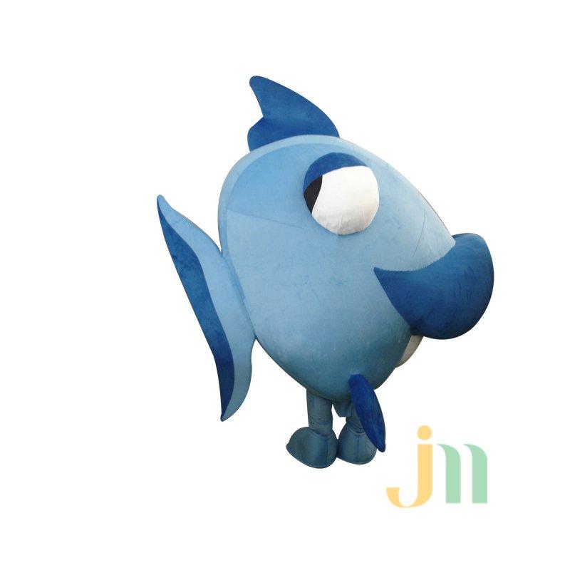 Deep-sea Fish Cartoon Doll Cartoon Walking Doll Clothing Doll Sets of Deep-sea Fish Mascot Costume