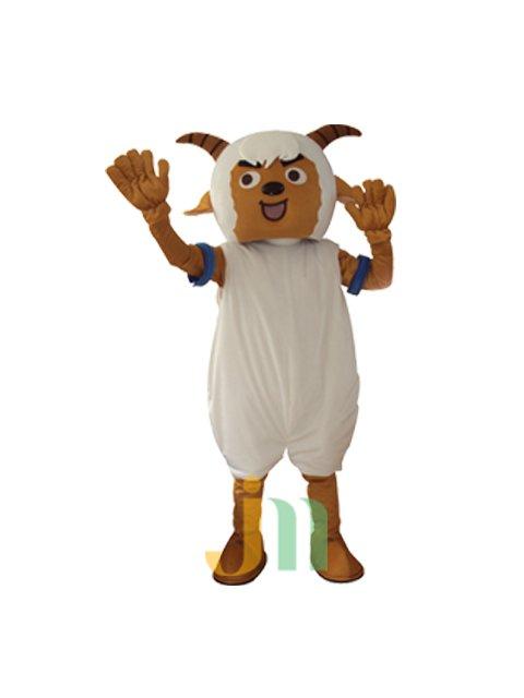 Doll Cartoon Clothing Cartoon Goat in Goat in Walking Doll Set Doll Mascot Costume