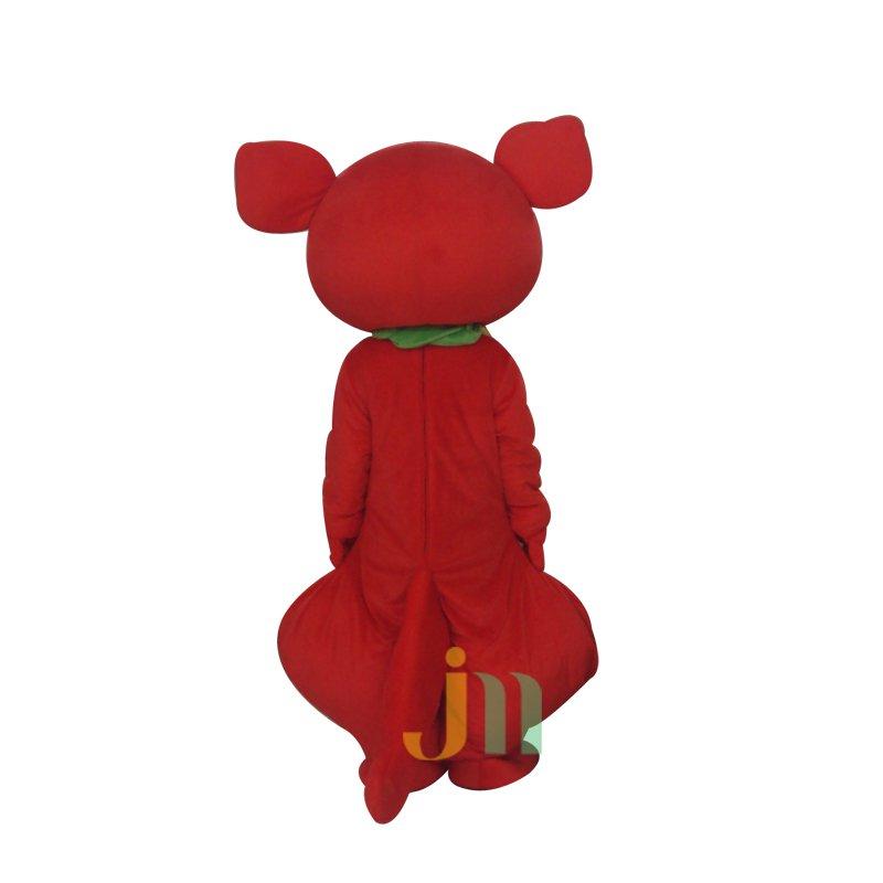 Red Kangaroo Cartoon Doll Cartoon Walking Doll Clothing Hedging Red Kangaroo Mascot Costume