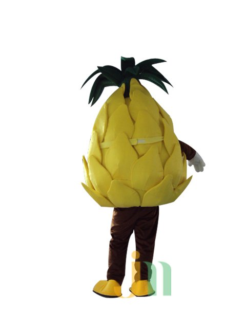 The New Cartoon Dolls Cartoon Clothing Pineapple Walking Doll Sets New Pineapple Doll Mascot Costume
