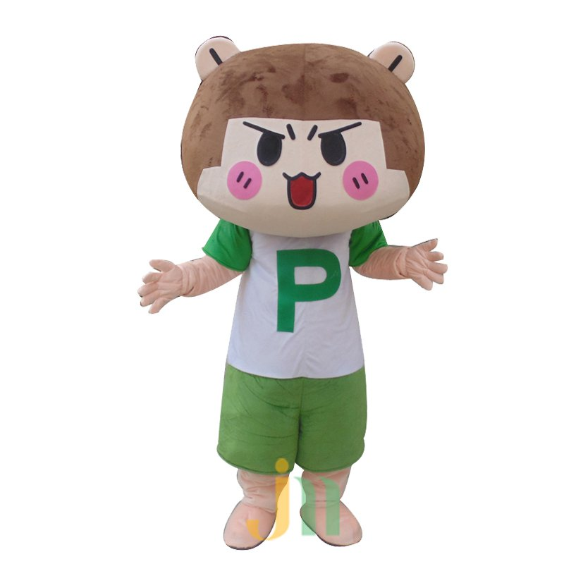 A Dream Girl Cartoon Doll Cartoon Walking Doll Clothing Hedging Girl Mascot Costume