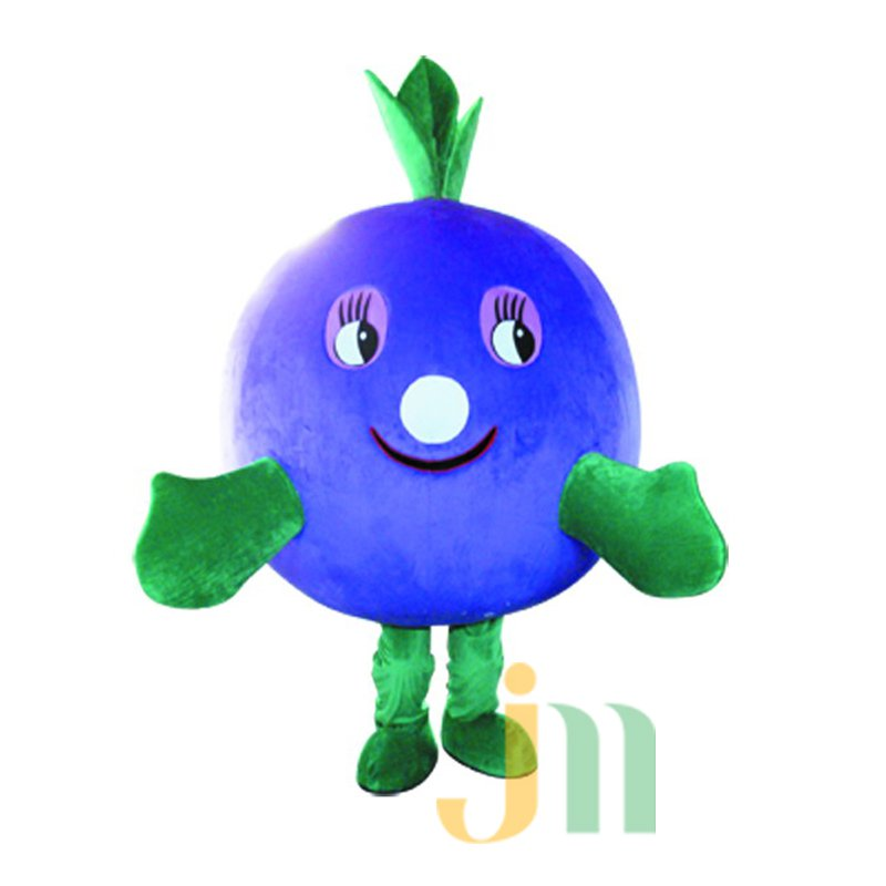 Blueberries Cartoon Doll Cartoon Walking Doll Clothing Hedging Blueberries Mascot Costume