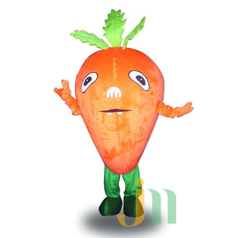 Carrot Cartoon Doll Cartoon Walking Doll Clothing Hedging Carrot Mascot Costume