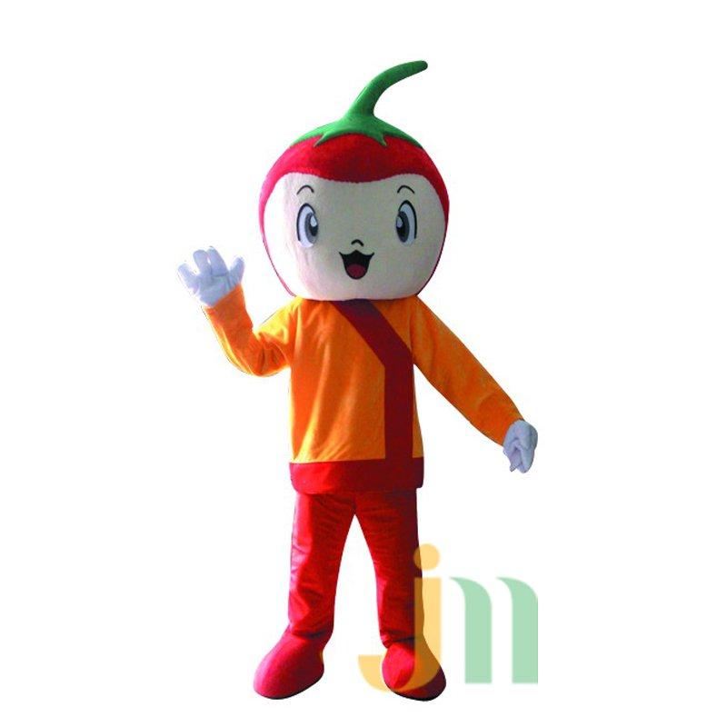 Even Cartoon Chili Man Walking Doll Cartoon Clothing Hedging Chili M Mascot Costume