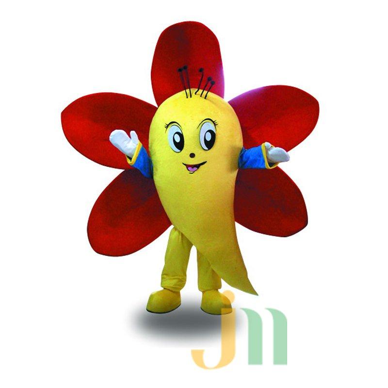 Kapok Kapok Doll Cartoon Clothing Cartoon Walking Doll Hedging City Flower Kapok Mascot Costume