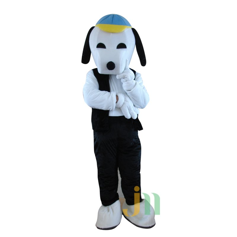 A Version of Snoopy Cartoon Doll Cartoon Walking Doll Clothing Hedging A Version of Snoopy Mascot Costume