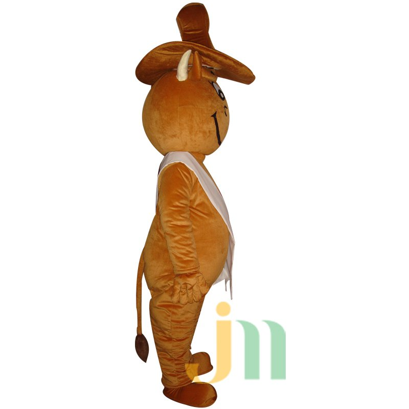 Air Cartoon Cow Suit Walking Doll Clothing Doll Cartoon Cow Puppet Air Mascot Costume