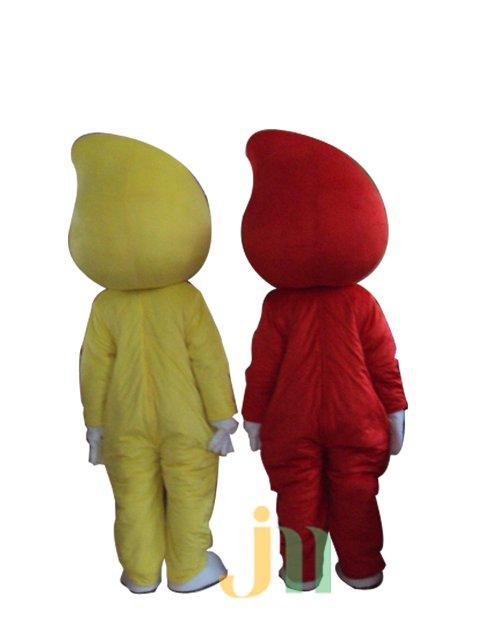 Cartoon Doll Clothing Walking Hedging Mascot Costume Decoration Austar Couple Even Animation Activities