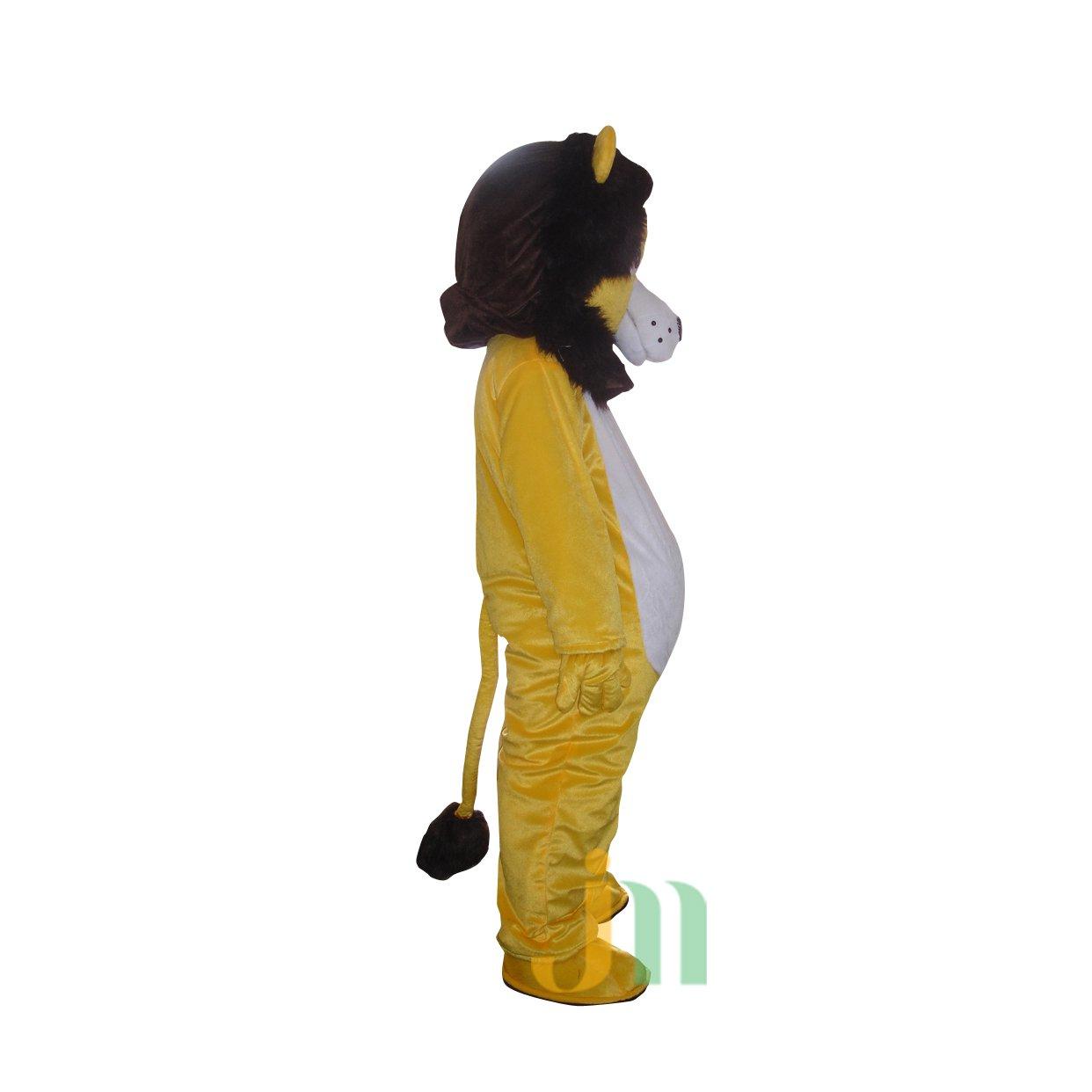 Doll Cartoon Clothing Cartoon Lion Walking Doll Hedging Majestic Lion Mascot Costume