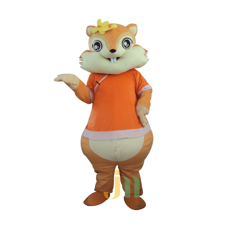 Even Cartoon Squirrel Woman Walking Doll Cartoon Clothing Female Squirrel Hedging Mascot Costume