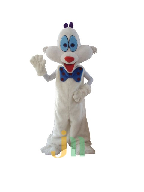 Lovely Colorful Cartoon Walking Doll Clothing Doll Cartoon Rabbit Hedging Gorgeous Rabbit Dolls Mascot Costume