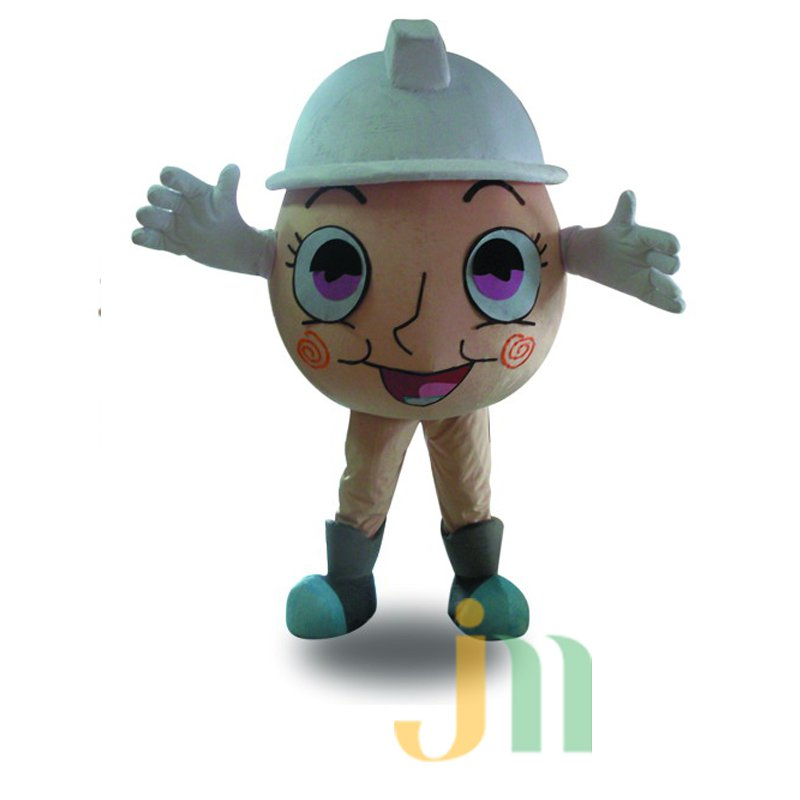 Security Egg Costume Cartoon Doll Cartoon Walking Doll Hedging Safe Egg Mascot Costume