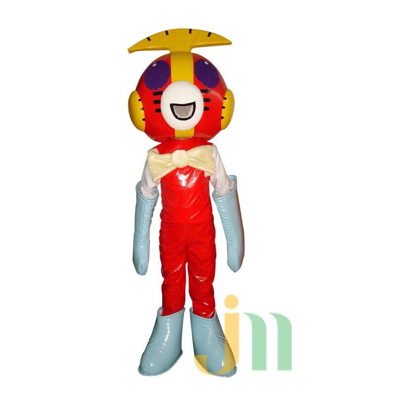 Superman Cartoon Cat Walking Doll Clothing Doll Cartoon Cat Superman Hedging Mascot Costume
