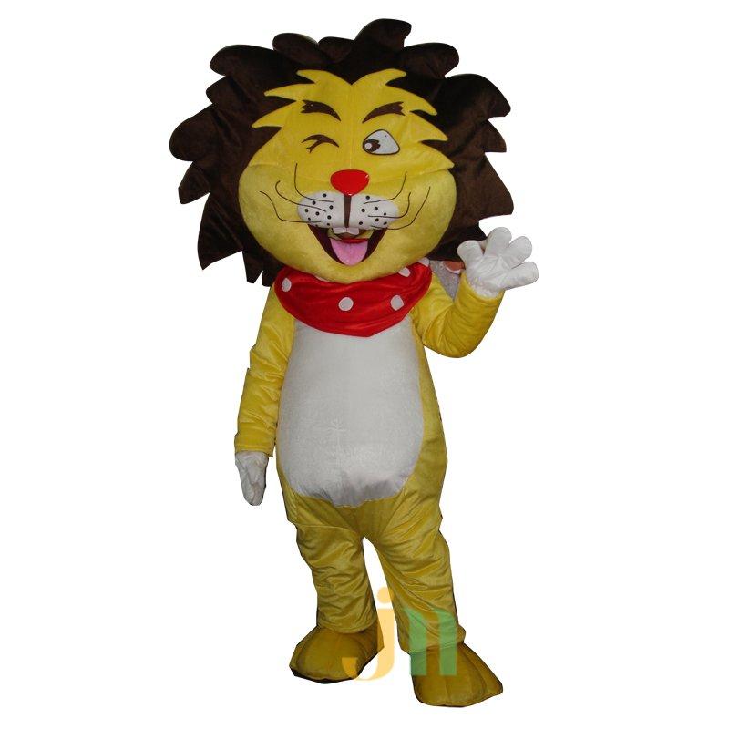 Xinca Cartoon Lion Walking Doll Clothing Doll Cartoon Lion Hedging Xinca Mascot Costume