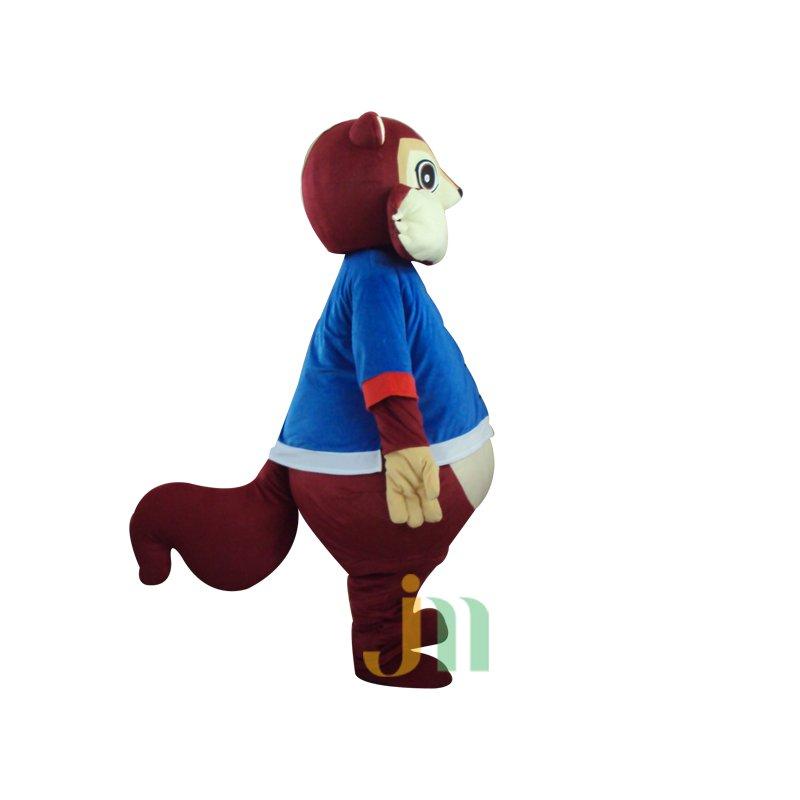 Yaya Squirrel Cartoon Walking Doll Clothing Doll Cartoon Squirrel Hedging Yaya Mascot Costume