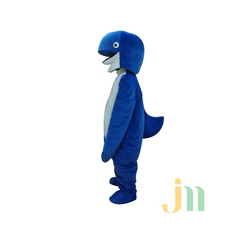Blue Cartoon Doll Cartoon Walking Doll Clothing Sets Blue Dolls Mascot Costume