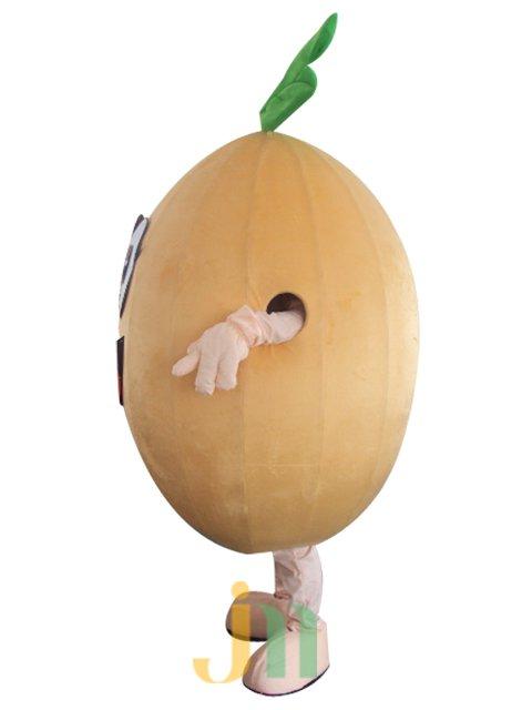 Cantaloupe Cartoon Doll Cartoon Walking Doll Clothing Hedging Cantaloupe Mascot Costume