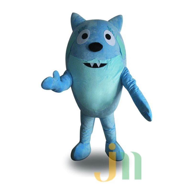Cartoon Blue Egg Doll Cartoon Walking Doll Clothing Hedging Blue Egg Mascot Costume