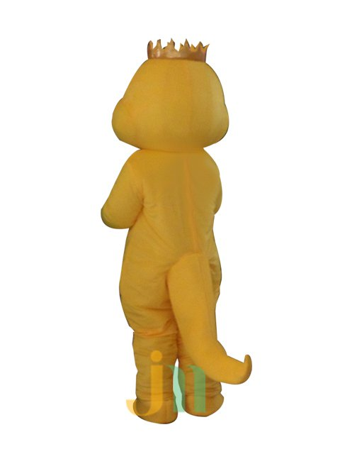 Cartoon Doll Clothing Couple Walking Hedging Yellow Snake Woman Even Clothing Decoration Animation Activities Mascot Costume