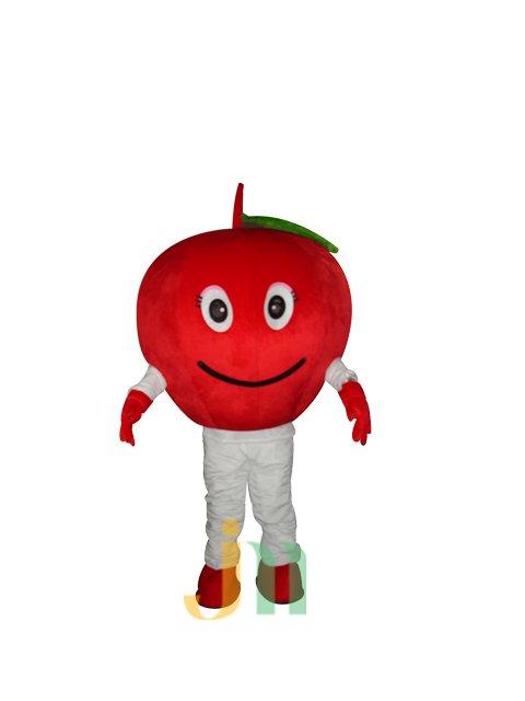 Cartoon Doll Clothing Walking Hedging Activity Cartoon Mascot Costume Red Apple