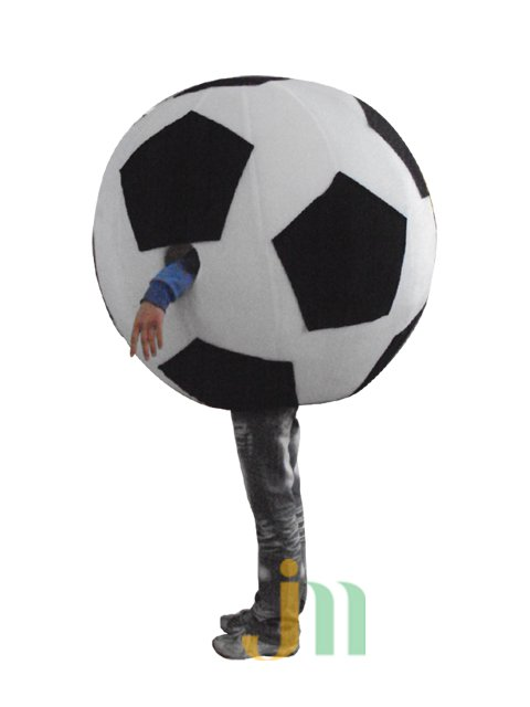 Cartoon Doll Clothing Walking Hedging Activity Cartoon Mascot Costume Suit Football