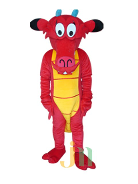 Cartoon Doll Long Wood To Be Walking Doll Cartoon Clothing Sets of Wood To Be Dragon Puppet Mascot Costume