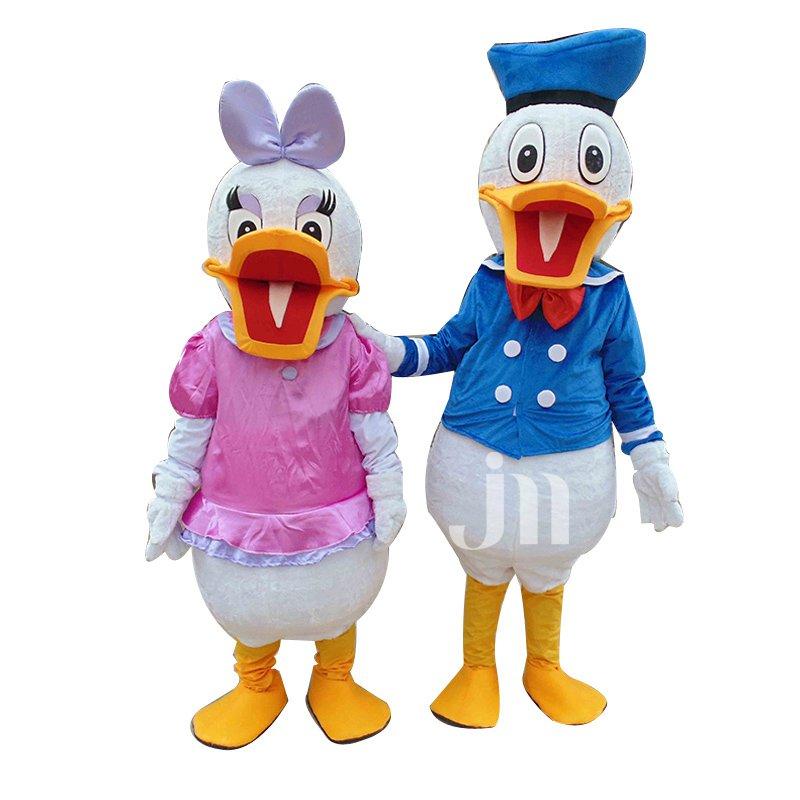 Daisy Clothing Walking Cartoon Donald Duck Donald Duck Dolls Hedging Mascot Costume