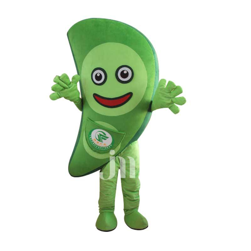 Pea Doll Cartoon Clothing Cartoon Walking Doll Hedging Peas Mascot Costume