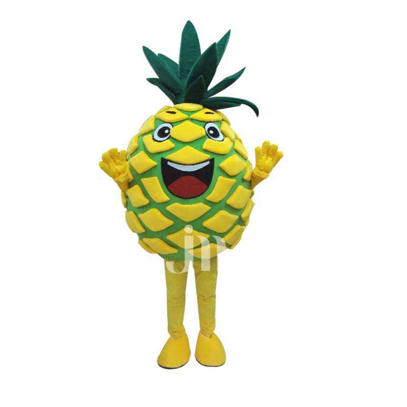 Pineapple Cartoon Doll Cartoon Walking Doll Clothing Hedging Pineapple Mascot Costume