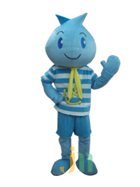 Cartoon Doll Clothing Walking Hedging Mascot Costume Is Decorated Sailor Doll Animation Activities
