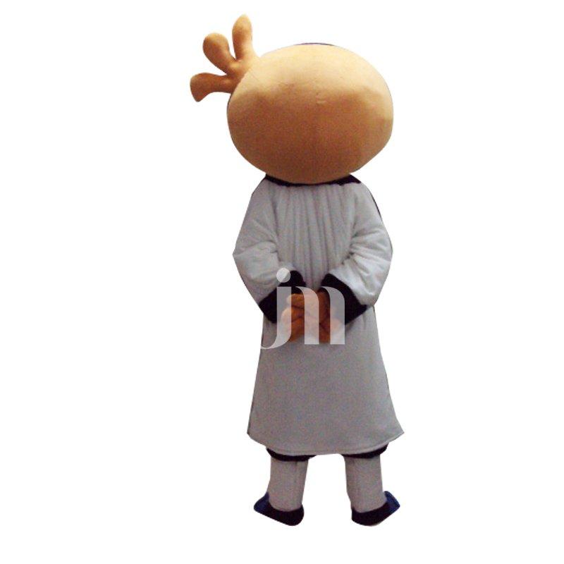 Cute Cartoon Kung Fu Man Walking Doll Doll Cartoon Clothing Cute Effort Hedging People Mascot Costume
