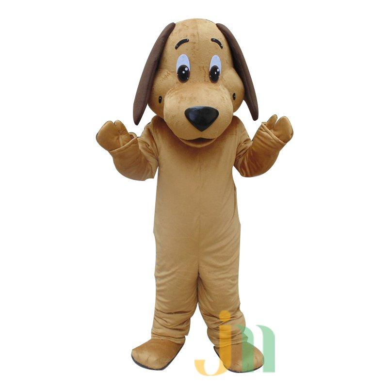 Doll Cartoon Clothing Cartoon Dog Walking Doll Hedging Hounds Mascot Costume