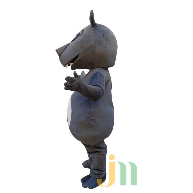 Doll Cartoon Clothing Cartoon Hippo Head Hippo Walking Doll Sets Mascot Costume
