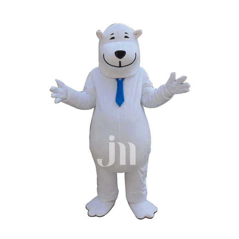 Doll Cartoon Clothing Cartoon Polar Bear Walking Doll Hedging Honest Polar Bear Mascot Costume