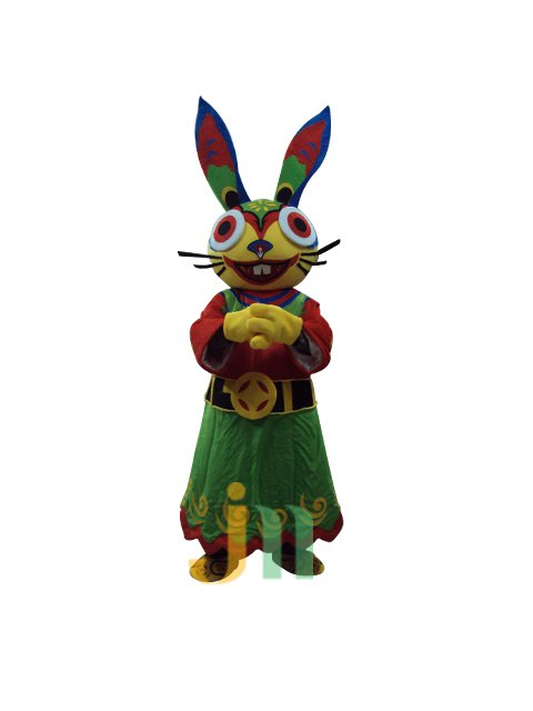 Fortuna Lovely Cartoon Rabbit Walking Doll Clothing Doll Cartoon Rabbit Doll Hedging Fortuna Mascot Costume