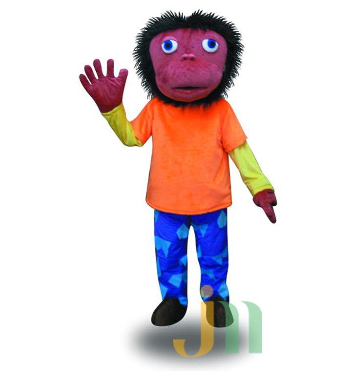 Rock Cartoon Walking Doll Clothing Doll Cartoon Monkey Hedging Rock Monkey Mascot Costume