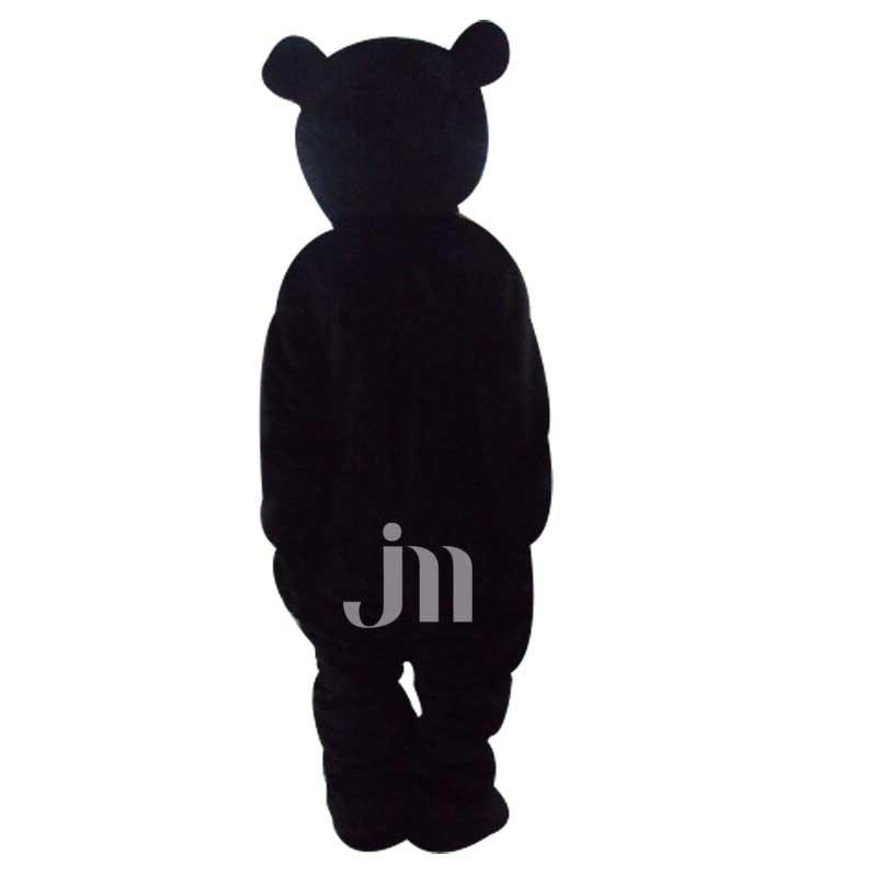 Black Bear Cartoon Doll Cartoon Walking Doll Clothing Hedging Black Bear Mascot Costume