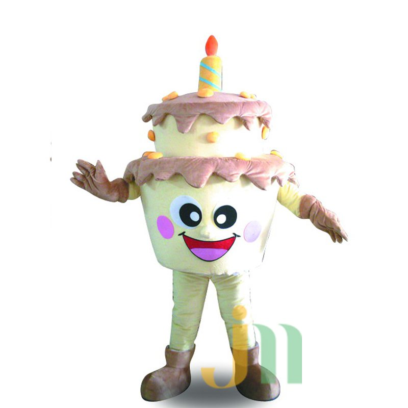 Cake Doll Cartoon Clothing Cartoon Walking Doll Hedging Cake Mascot Costume