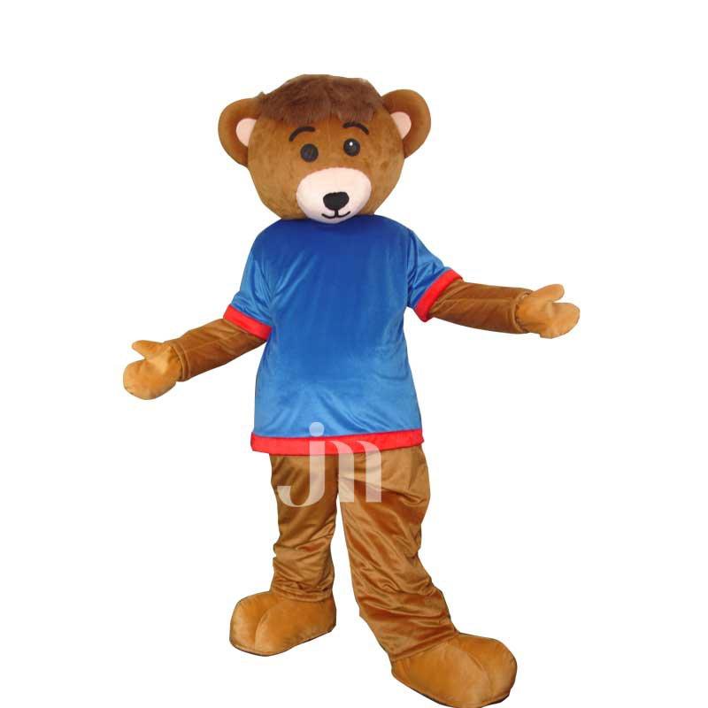 Cartoon Bear Even A Man Walking Doll Cartoon Clothing Set Bear Male Mascot Costume
