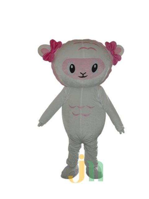 Cartoon Beautiful Sheep Doll Cartoon Walking Doll Clothing Sets Us Frankie Doll Mascot Costume