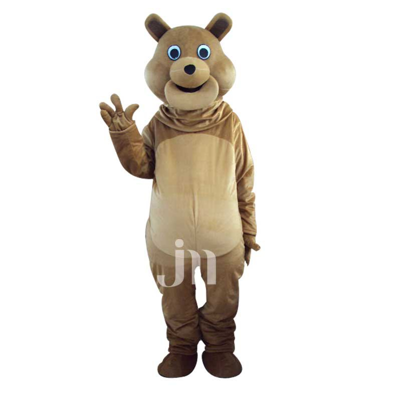 Cartoon Doll Cartoon Version 2 Grizzly Walking Doll Clothing Ferrule 2 Version Grizzlies Mascot Costume