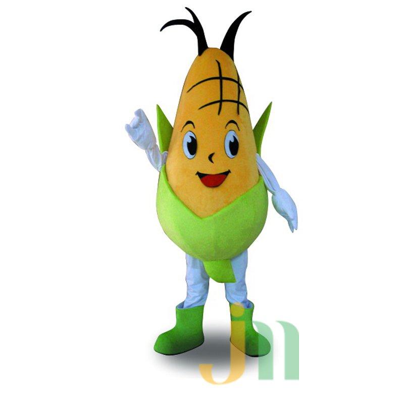 Corn Cartoon Doll Cartoon Walking Doll Clothing Hedging Corn Mascot Costume