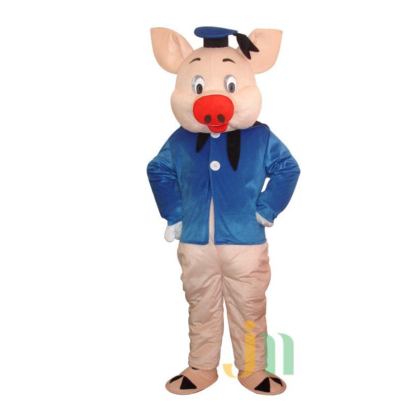 Dr. Doll Cartoon Clothing Cartoon Pig Walking Doll Sets Dr. Pig Dolls Mascot Costume
