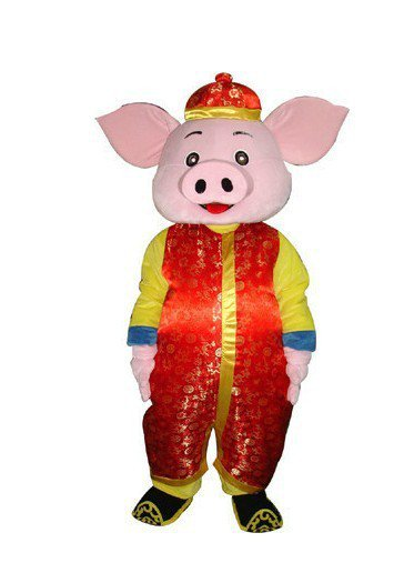 Classic Cartoon Clothing Cartoon Walking Doll Clothing Doll Clothing Cartoon Clothing Costume Pig Mascot Costume
